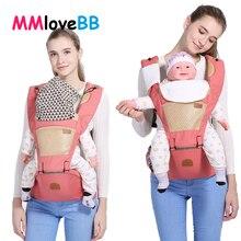MMloveBB высококачественный Детский рюкзак-кенгуру с поясом для младенцев, эргономичный слинг для малышей, Детская сумка-кенгуру для переноски детей