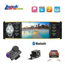 Автомагнитола 1din 4029 FM Авто Аудио Стерео Bluetooth Aux вход приемник SD USB Поддержка камеры заднего вида рулевое колесо Contral