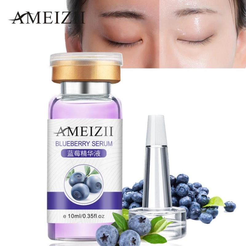 Vitamin C&E Collagen Face Serum Facial Pure Blueberry Aloe Cherry Hyaluronic Acid Whitening Repairing Lifting Firming Skin Care