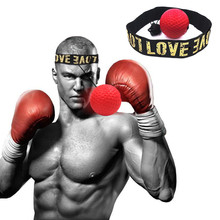 Boxing speed ball UFC Hand Eye Training Set fighting Head-Mounted Reflex Ball Reaction Exercise Equipment reaction