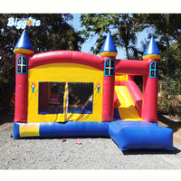 Commercial grade jumping house bouncy castle combo slide kids games