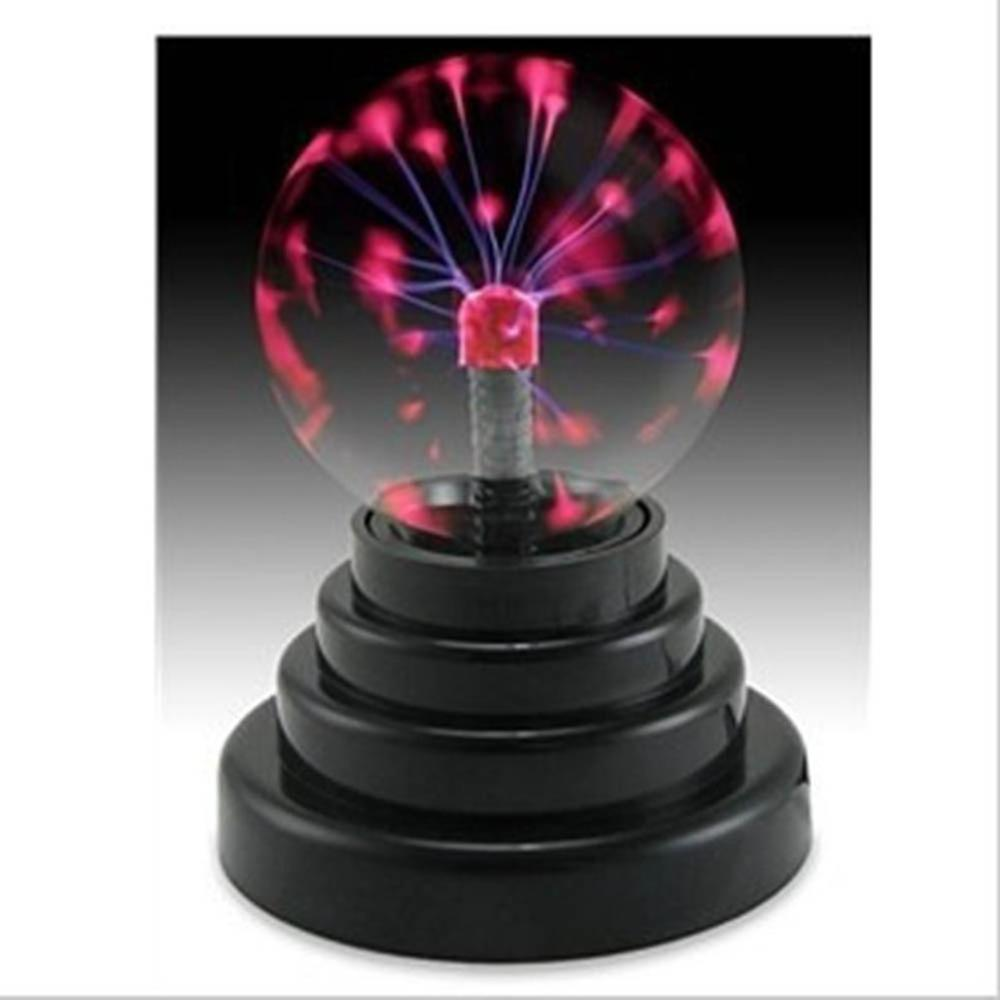 Magic Plasma Ball Touch Sensitive Glass Lightning Sphere Classic Novelty Retro Fun Toy Gadget Mains Operated Lamp For Home