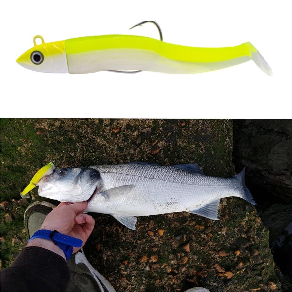 Rhino Soft-Finny Fish Smell Lure 15g 135mm All Colours Pike Predator Fishing