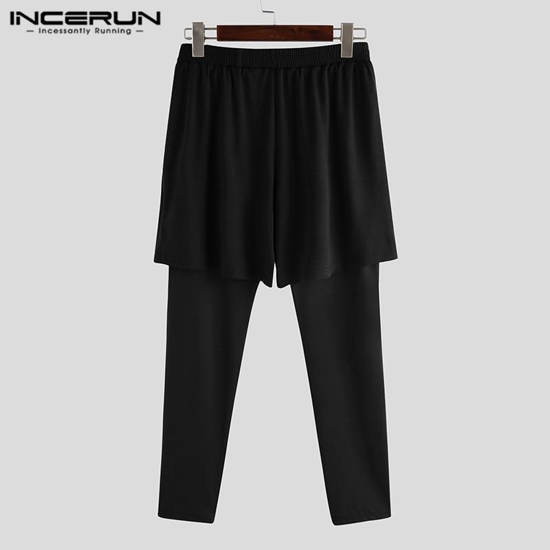 INCERUN Mens Sport Trousers Running Pants Men Fitness Joggers Dance Basketball Sweatpants Male Gym Training Jogging Pants 5XL