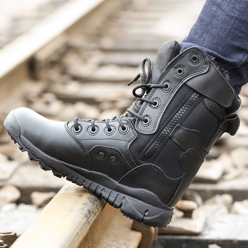 Ultra-Light For Combat Boots CQB. Swat Xiaolong Spring And Autumn For Combat Boots SFB Combat Boots Canvas Breathable CS Hight-t