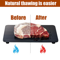 Placa de descongelamento natural rápida da esteira da descongelação da carne da bandeja da descongelação da carne sem bandejas do descongelamento do aquecimento não vara congelada da carne|Bandejas de descongelar|   -