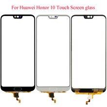 Ekran dotykowy dla Huawei Honor 10 ekran dotykowy Panel Digitizer czujnik 5.84 ''wyświetlacz LCD przednia szklana soczewka zewnętrzna brak części lcd