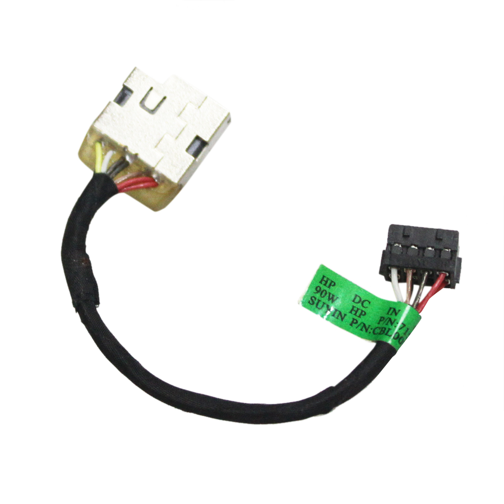New Laptop AC DC Power Jack Plug in Socket Connector with Cable Harness for HP Pavilion 17-g084ca 17-g099nr 17-g100nl 17-g101dx 17-g103dx 17-g103ng 17-g110nr 17-g113dx 17-g119dx 17-g120cy
