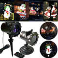 Christmas Animation LED Projector Decoration For Home Xmas Lights Snowman,Santa Claus Projector Waterproof Lighting For Garden