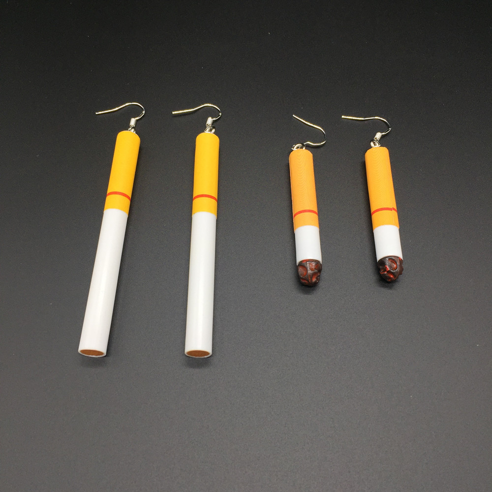 Earrings Cigarette Ancient Creativity Butts Fashion Women For Gout Contracted-Girl Ways