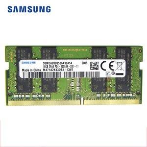 Оперативная память SAMSUNG DDR4, 8 ГБ, 16 ГБ, оперативная память для ноутбука 3200 МГц, 1,2 В, DRAM-флешка для ноутбука, 32 ГБ, 8 ГБ, 16 ГБ, 260-Pin, 1,2 В, ОЗУ DIMM
