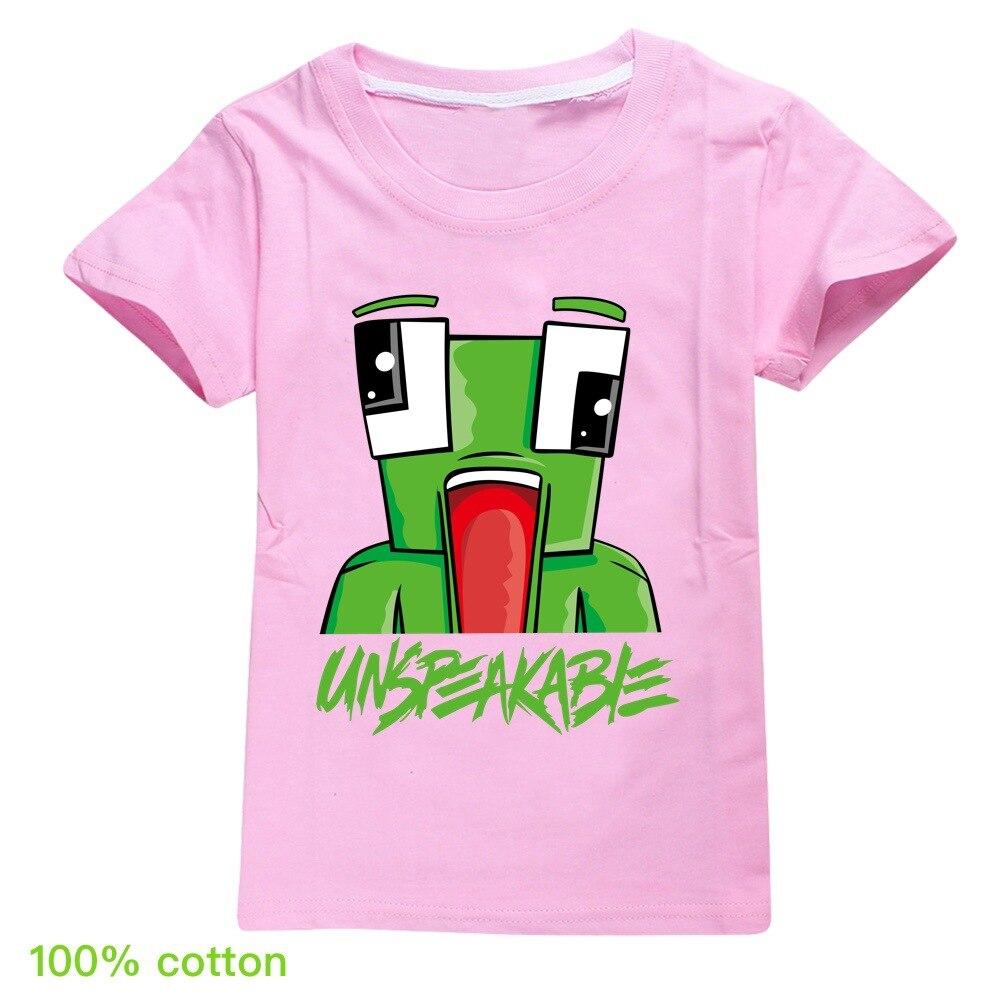 Summer Unspeakable Inspired Youtube Boys T-Shirts Gaming Kids sweatshirt T-Shirt For Girls Tops Tees Children Clothing 3