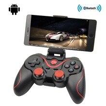 T3 X3 kablosuz oyun kolu Bluetooth 3.0 Gamepad oyun denetleyicisi oyun uzaktan kumanda Tablet PC için Android akıllı cep telefonu