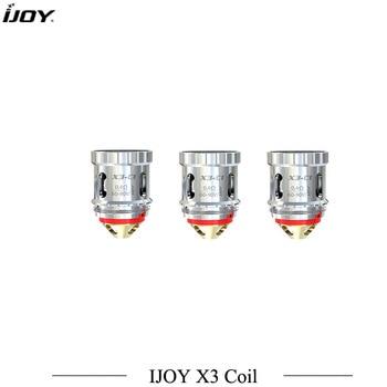 3pcs/lot Original Ijoy X3 Coil X3 series Head Cores X3-C1/C2/C3/C1S/Mesh For Diamond Sub ohm Avenger Sub ohm Captain X3 Tank фото