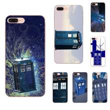 TPU Original Für Apple iPhone 4 4S 5 5C 5S SE 6 6S 7 8 Plus X XS Max XR V Tardis Arzt Dr Who Police Box(China)