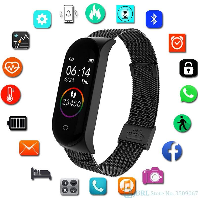 Led Wrist Watch Kid Digital Watch Children WristWatch Android IOS Bluetooth Music Child Digital Watches Teen Fitness Bracelet