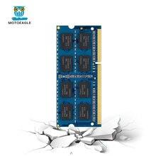 MOTOEAGLE dizüstü bilgisayar RAM bellek DDR3L DDR3 1.5V 1.35V 1066MHz 1333MHz 1600MHz 8500S 10600S 12800S 204PIN SODIMM dizüstü RAM