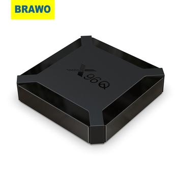 BRAWO TV pudełko z systemem Android 10 X96Q 2 4G Wifi Allwinner H313 czterordzeniowy 1G 8G 2GB 16GB 1080P odtwarzacz multimedialny X96 P 4K inteligentny dekoder tanie i dobre opinie 100 M CN (pochodzenie) 8 GB eMMC 16 GB eMMC HDMI 2 0 1G DDR3 2G DDR3 802 11b g 0 37KG Android 10 0 DC 5 V 2A Full HD @ 50 60 Hz