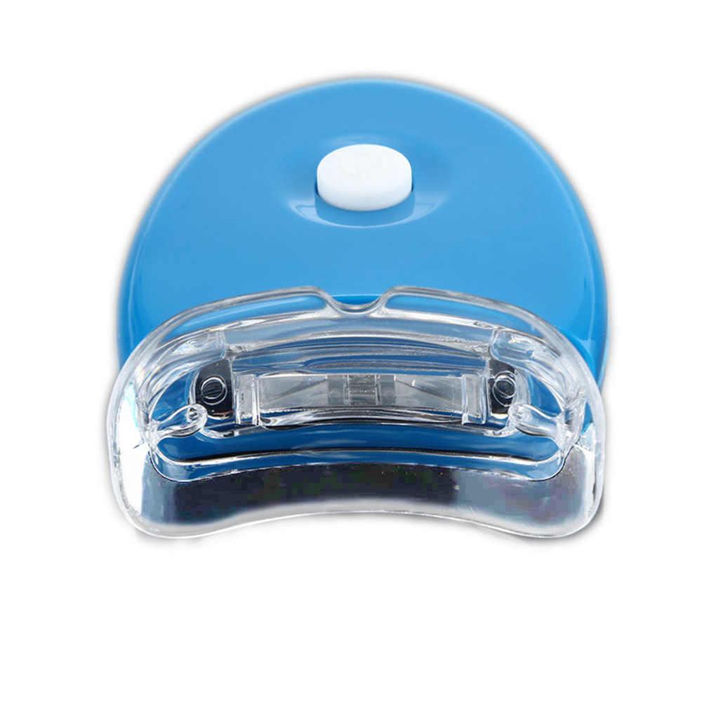 뜨거운 새로운 블루 LED 치아 미백 가속기 자외선 치과 레이저 램프 라이트 도구 치아 화장품 레이저 새로운 여성 미용 건강