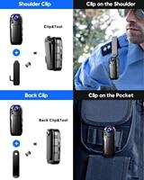 Boblov l02 1080p infrared night vision full hd lens mini camera dash cam small camcorder 125 degrees wide angle bodycam police