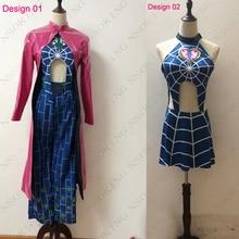 Anime JoJos Bizarre Adventure Cosplay Jolyne Cujoh Kujo Costume Custom Made