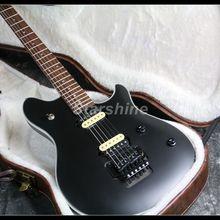 цена на 2019 New Wolfgang Electric Guitar Y-P3 FR Bridge Matt Black Finish Zebra Humbuckers Black Hardware