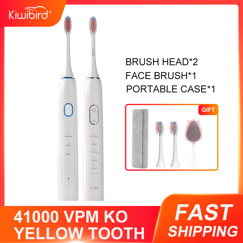 Kiwibird K3 K5 Electric Toothbrush DuPont Bristle High Vibration Sonic Tooth Brush IPX7 Toothbrushes Travel Box For Xiaomi Mijia image