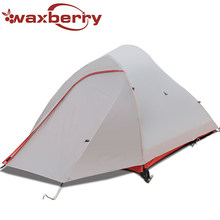 Ultra-lightweight professional aviation aluminum alloy tent Air Bionics Design Super 8000mm waterproof ventilation camping Nylon
