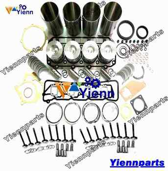 For VOVLO D3.1DCAE2 D3.1 Overhual rebuild kit with valve For Wheeled Excavator Tractor Engine Repair Parts