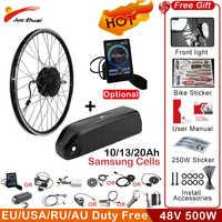48V 500W de rueda eléctrica e kit de bicicleta de montaña bicicleta 29 motor de cubo pulgada sin escobillas e-kit de bicicleta electrica bicicleta de bicicleta eléctrica
