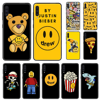 Justin Bieber Drew Phone case For Samsung Galaxy A 3 5 8 9 10 20 30 40 50 70 E S Plus 2016 2017 2018 2019 black 3D hoesjes tpu image