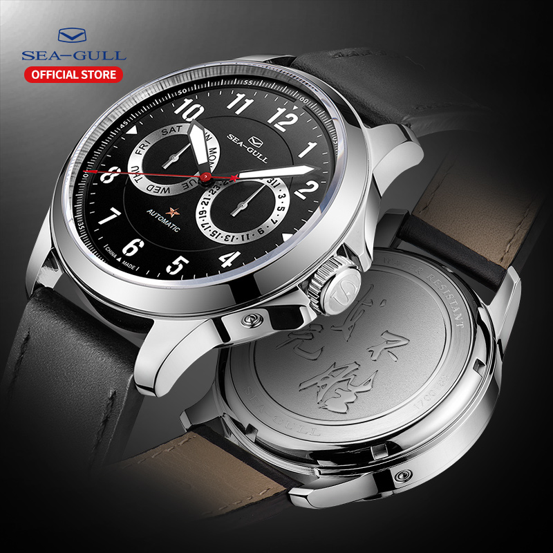 Seagull Watch Men's Automatic Mechanical Watch 100m Waterproof Watch Business Watch Men's Watch 2019 Men's Watch 816.27.1012H