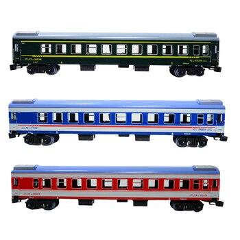 1/87 HO skala Model pociągu zabawka YZ25G samochód osobowy Diesel zabawki prezenty dla dzieci