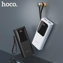 HOCO Power Bank 10000mAh Mini USB LED display External Batte