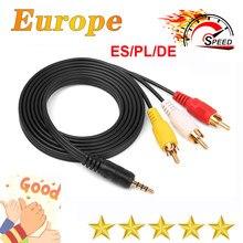 Gtmedia-cable av de 36M para receptor satélite de 8 líneas, v8 nova v9 super, Europa