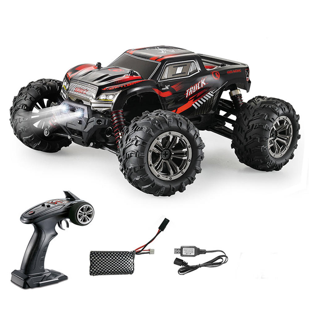 9145 1/20 4WD 2.4G High Speed 28km/h Proportional Control Xinlehong  RC Car Truck Vehicle Models - Red