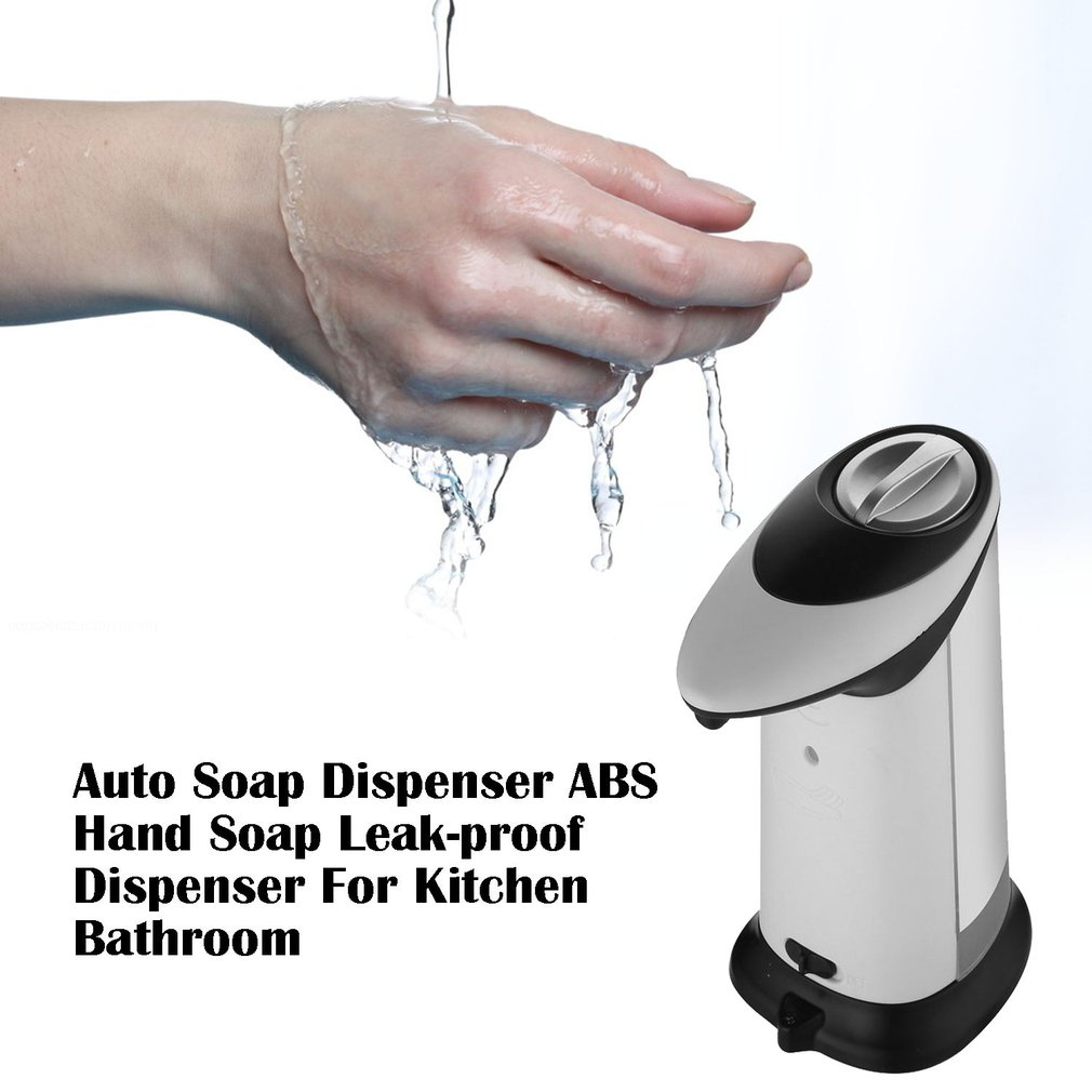 Infrared Automatic Soap Liquid Dispenser Touchless ABS Auto Dispensador 420ml Smart Sensor Sanitizer Children Kitchen Bathroom