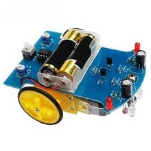Интеллектуальное отслеживание умный автомобиль робот DIY наборы с TT Мотор колеса электронный OC