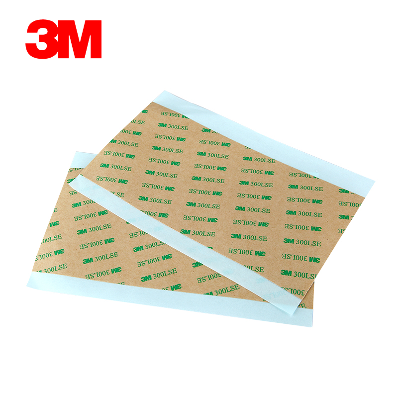 Hibond 9471LE 90x200mm 3M 300LSE Pure Lamination Adhesive Transfer Tape, Easy Remove, 0.05mm Thick
