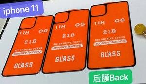 Image 5 - 2PCS Anteriore + Posteriore Full Colla di Vetro Temperato Per Il Iphone 11 11Pro Protezione Dello Schermo pellicola protettiva Per Il Iphone 11 pro 11Pro Max Glaas