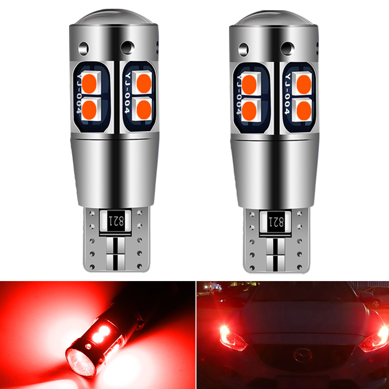 2x светодиодный Canbus T10 W5W стояночный светильник, лампа для Toyota Corolla Avensis Yaris Rav4 Auris Hilux Prius Camry Celica