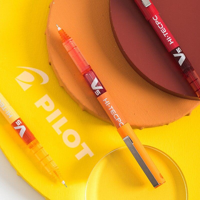 Pilot V5 couleur Gel stylo 0.5mm bille Tecpoint bonbon encre écriture dessin Liner japon papeterie bureau fournitures scolaires F911