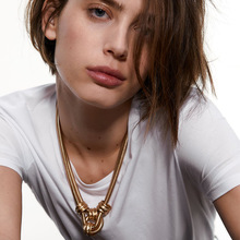 Buckle Necklaces for Women 2020 Jewelry Punk Thick Chain Clavicle Chains Necklace Metal Couple Hip Hop Gold Color Necklace buckle necklaces for women 2020 jewelry punk thick chain clavicle chains necklace metal couple hip hop gold color necklace