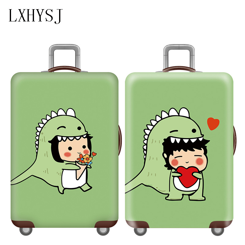 Hot Travel Luggage Protective Covers Elasticity Trolley Dust Cover For 18-32 Inch Suitcase Case Travel Accessories HW646