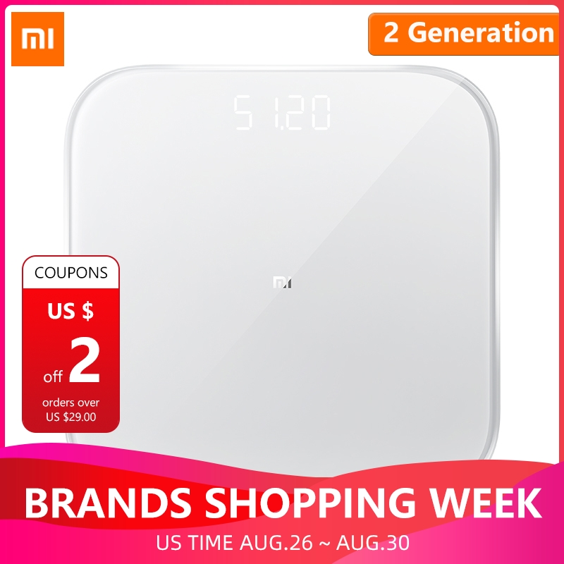 Xiaomi Scale-Support Health-Weight-Scale Ios 9-Mifit-App Digital Bluetooth Android 2