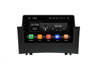 Rockchip PX6 Processor Android 9 Car Multimedia GPS For Renault Megane II 2004-2008 Radio autoradio DSP Navigation Full Touch image