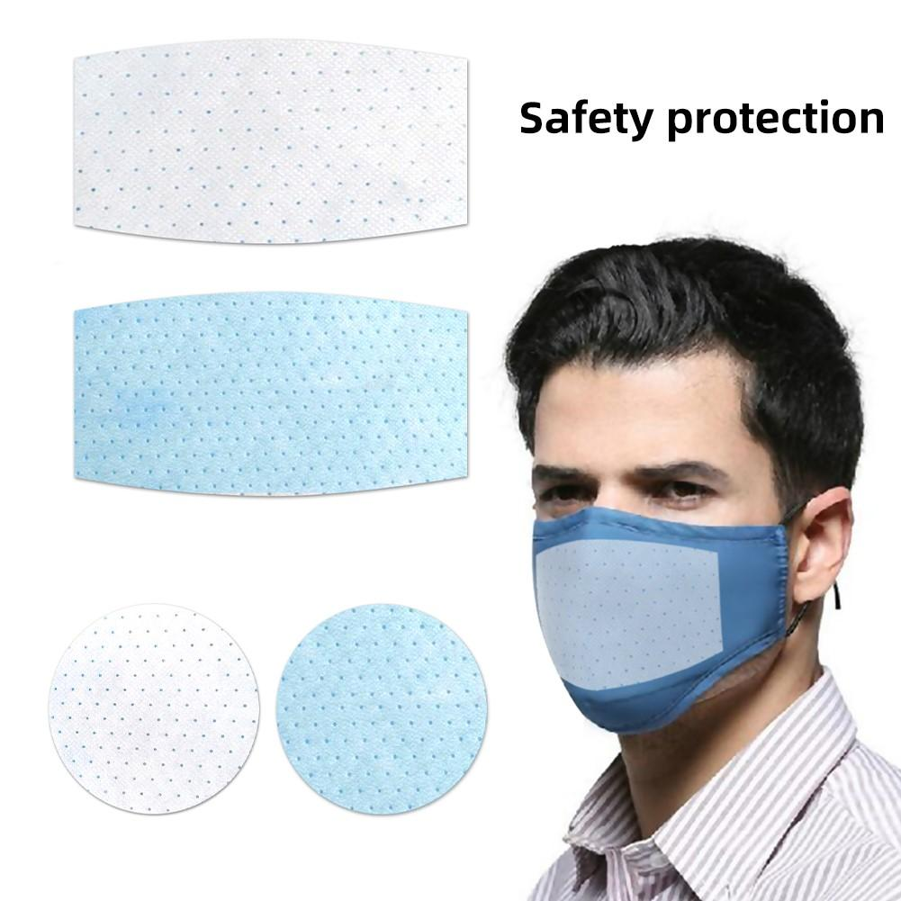 20Pcs Prevent Flying Spit Dust Proof Anti Haze Disposable Replace Inner Pads Filter For Mouth Mask