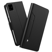 Card Case For Samsung Galaxy A71 A51 Wallet PU Leather Flip Stand Shockproof Mirror Cover for Samsung A81 A91 A71 Case Luxury