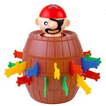 Funny Novelty Kids Children Funny Lucky Game Gadget Jokes Tricky Pirate Barrel Game Tricky Pirate Barrel tricky