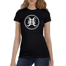 Camiseta negra de héroes Del Silencio para mujer